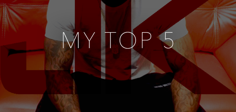 My Top 5 – Candy Edition